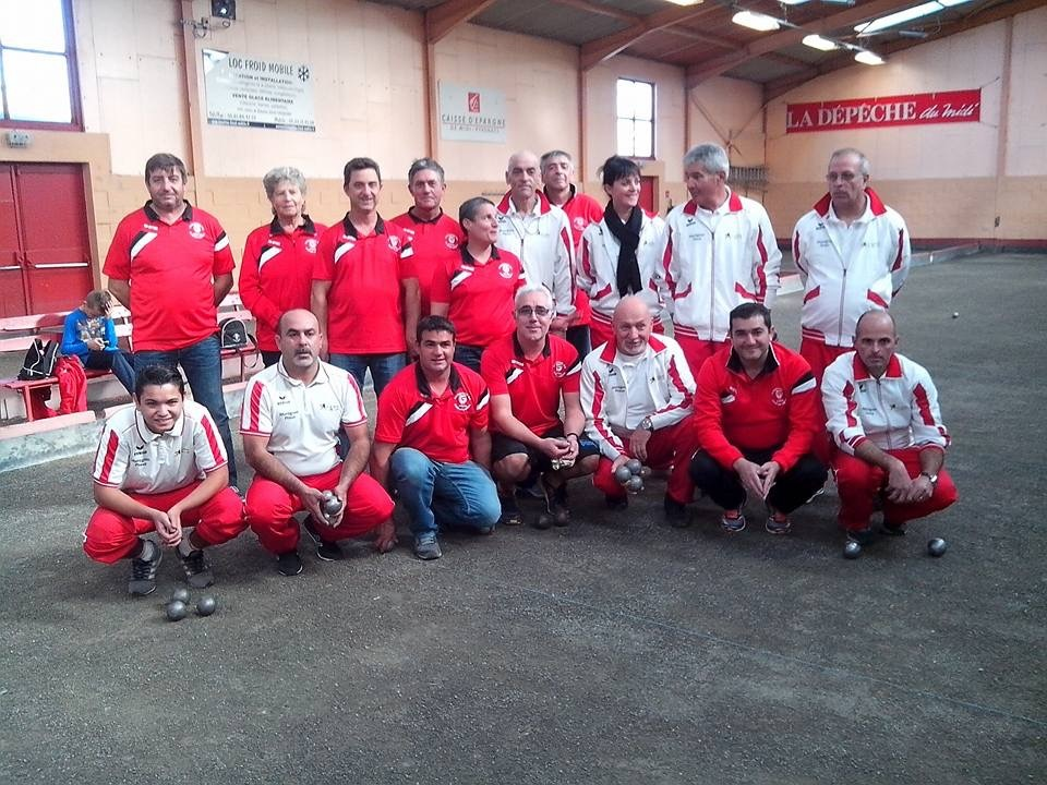Coupe de France 2nd Tour de Zone SAINT ALBAN (31) - CLOS DE LAUZUN (82)